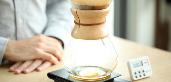 قهوه به روش سایفون در آموزشگاه شیرینکده