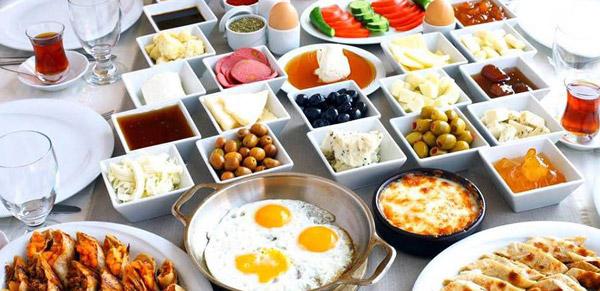 آموزش صبحانه